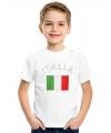 Kinder shirts met vlag van Italie